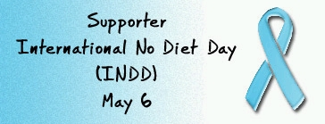 Symbol for International No Diet Day