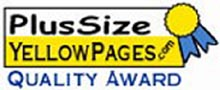 Plus Size Award from the Plus Size Yellow Pages